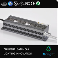 led waterproof power supply 100w 24v outdoor waterproof led strip driver electronic led driver 200w