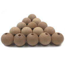 Amazon and INS Hot Sale 14mm Beech Wooden Beads
