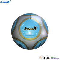 machine stitched pvc football promotional street soccer game ball