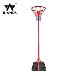 Sports equipment basketball netball post stands without backboard