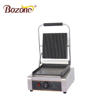 EG-811 New Sandwich Contact Grill-griddle Machine BBQ Panini Machine-hamburger Griddle Commercial Electric Contact Grill