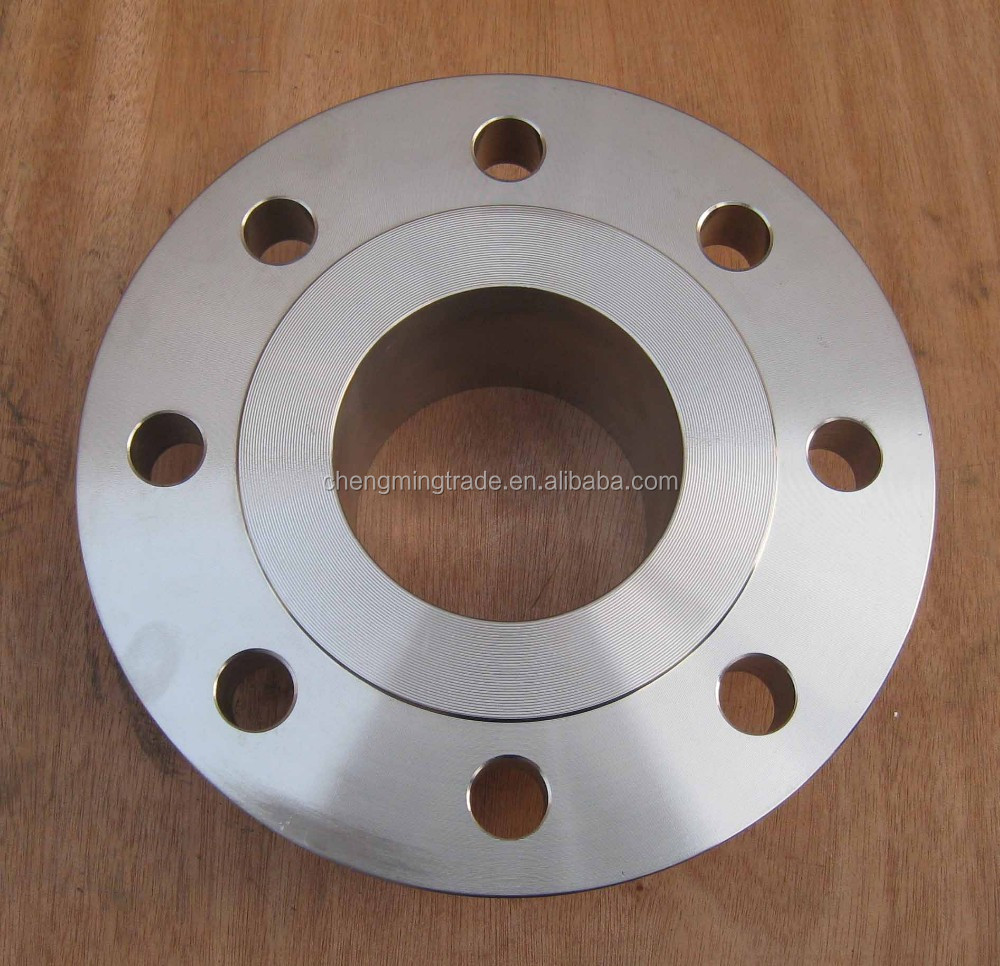 ASTM 105/DN 100/class 150/FF RF forged steel slip on flange