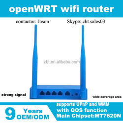 MT7620N chipset based 300Mbps transmission rate preloaded openWRT Wireless Router