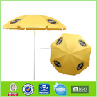 Big umbrella with tilt cheap polyester beach umbrella L-b151