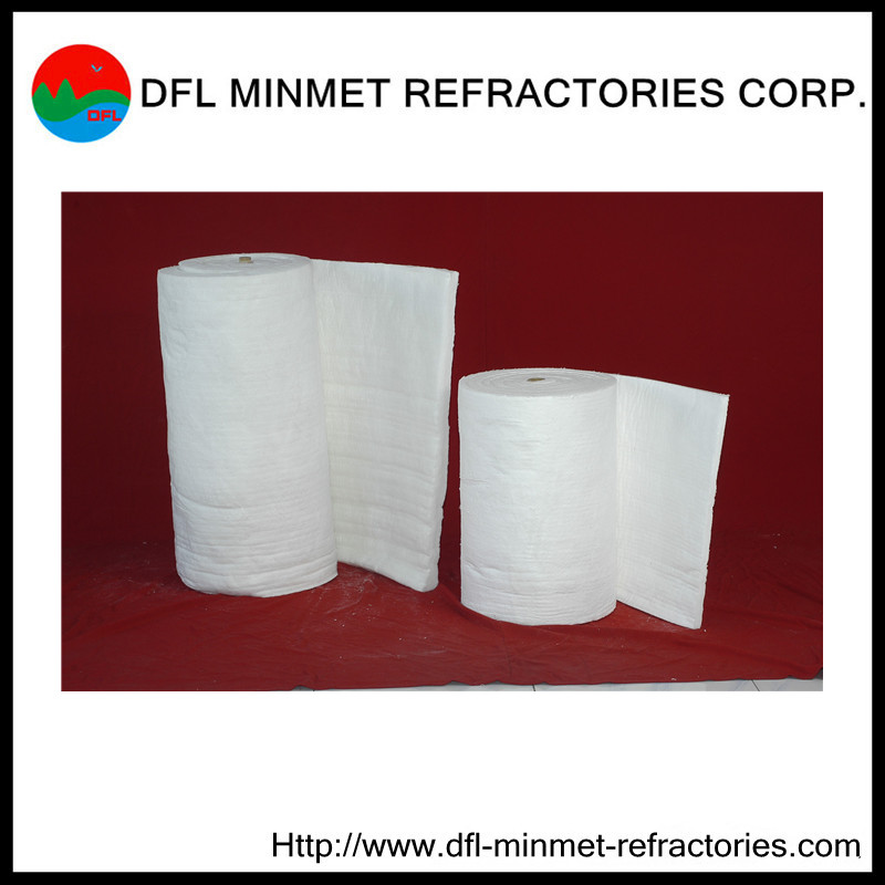 ceramic fiber blanket for expanded gaps of furnace wall