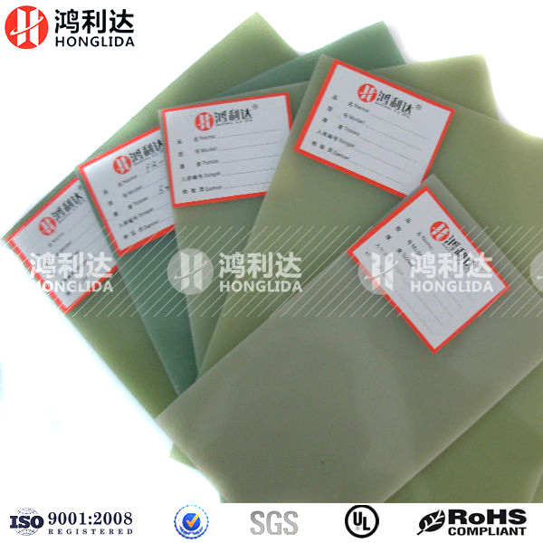 High Density Epoxy Resin Fiberglass Insulation Laminate FR4 Board