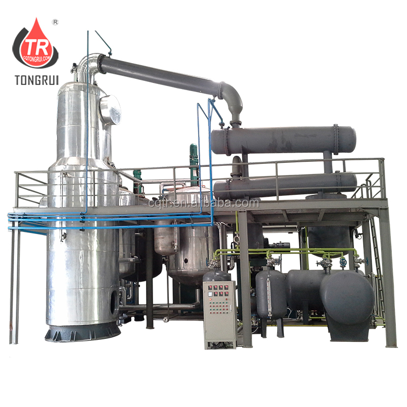 Black Diesel Engine Oil Distillation Recycling Machine/Used oil recycling/oil purification plant