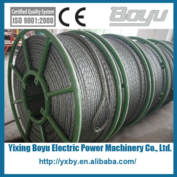 High strength anti twist wire rope