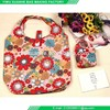 wallet style reusable nylon shopping tote bags