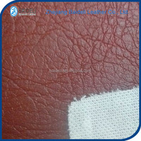 hot sell soft hand feeling pvc synthetic leather sofa leather