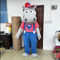hippo mascot costume/adult hippo mascot costume for promotion