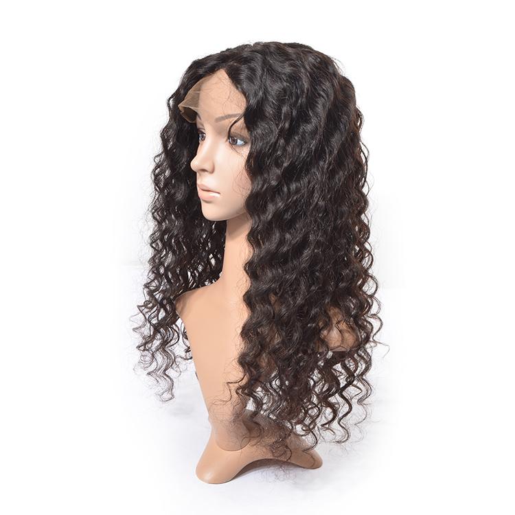 Cheap 10a Virgin Human Hair Full Lace Wigs
