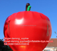 Giant Inflatable Apple Fruit for Yard Decoration