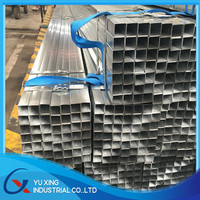 76*38mm Australia Standard Galvanized Fence Post Steel Pipes