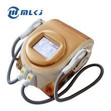 CE Approved 2 Handles Portable Elight IPL SHR Hair Removal Machine