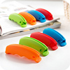 Eco-Friendly Carrying Handle Wholesale Convenience Silicone Bags Holder Soft Plastic Grocery Holder