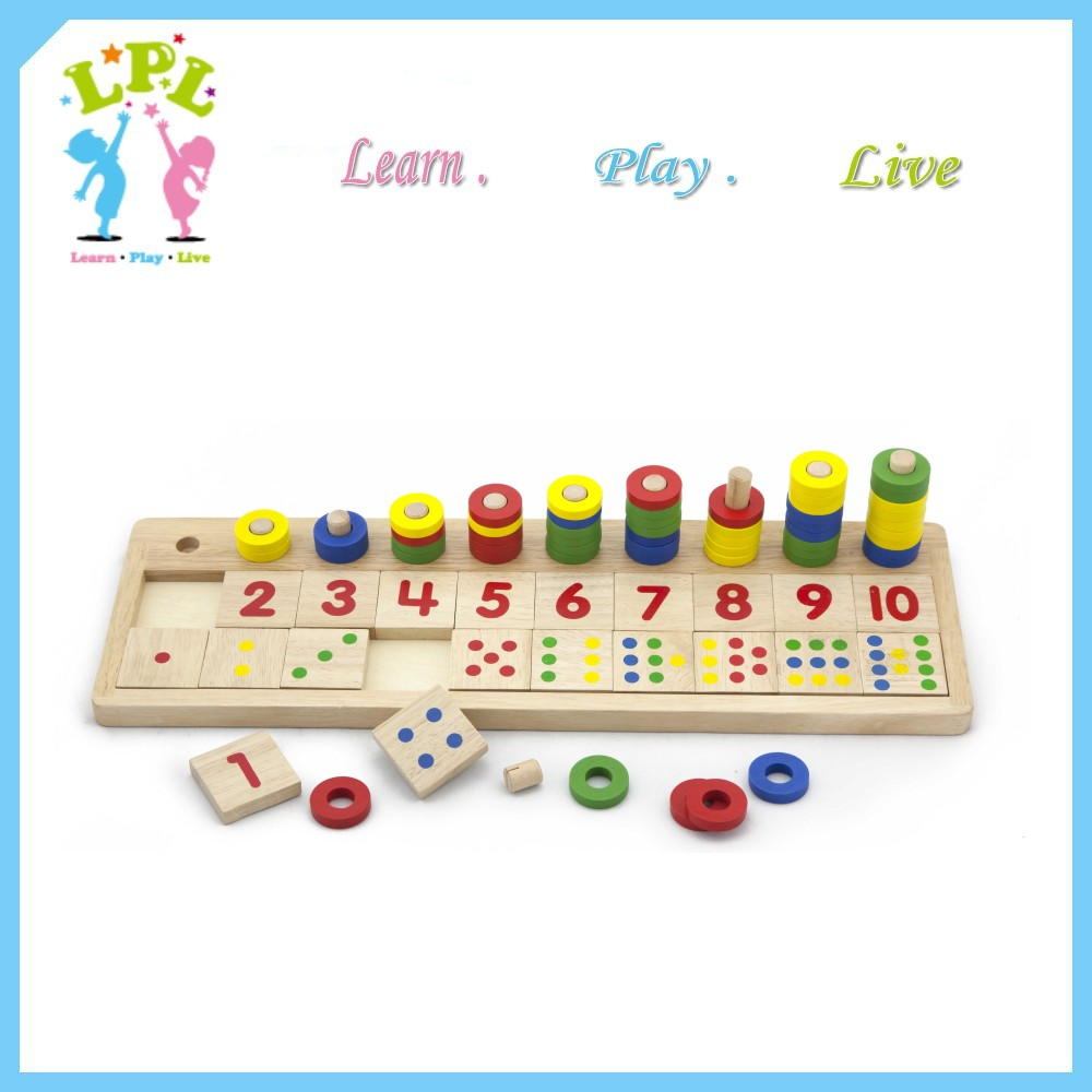 Hand eye co-ordination number board puzzles games preschool toys teaching aids for kindergarten