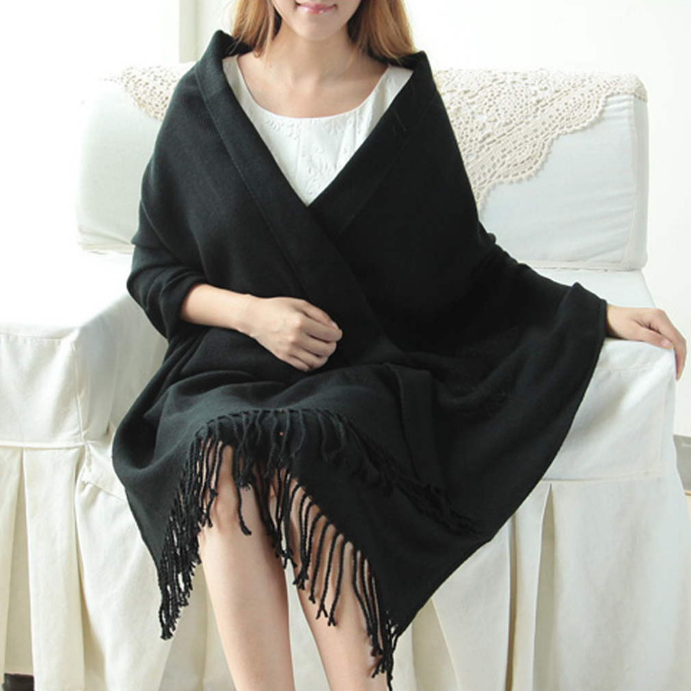 Fashion Girl Lady Soft Long Scarf Pashmina Wrap Shawl Scarves cashmere Wrap