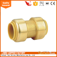 LB-GUTEN TOP Brass Lead Free Copper Push Fit Plumbing Fitting/CUPC/Plastic/Tee/Forged/Equal/Cap