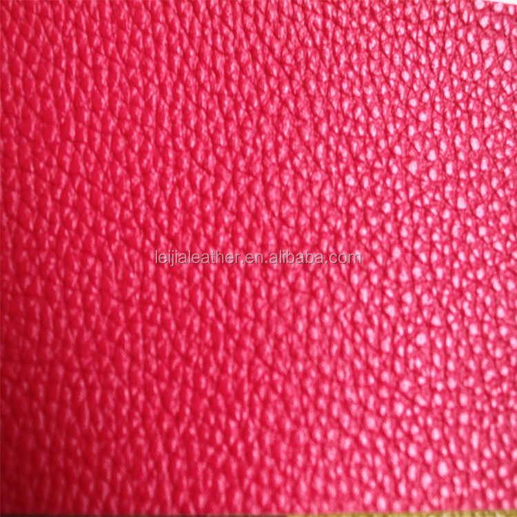 giant pebble <strong>grain</strong> and lychee pattern pu leather for bags wallet