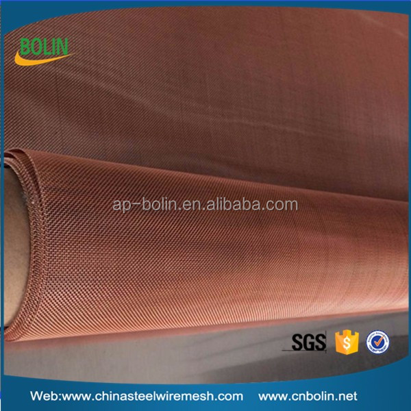 Faraday cage material copper wire mesh fabric filter disc for liquid gas and solid filtering