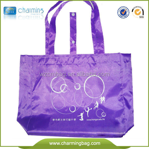 Customized Recycled polyester tote bags