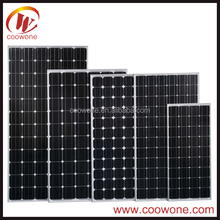 Low price and MOQ 5w to 300w solar cell plate solar panel