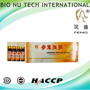 Top grade tonic of complementary energy ginseng antler royal jelly 1 group