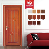 High quality teak wood main door models and solid wood door for apartment