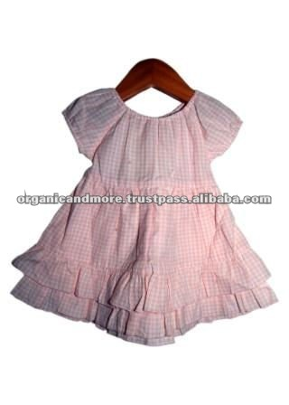 Organic Cotton Girl's Summer Dress