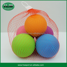 Hot Selling Promotional Pinky Rubber Bounce Squash Ball