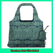 Promotional Fashional Style Army Green Shopping Bags