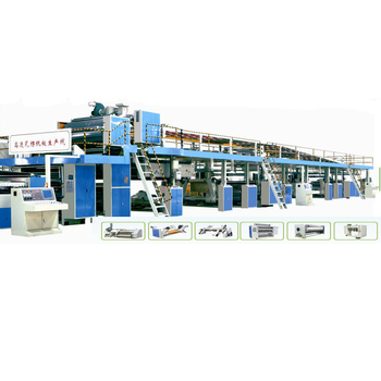 5 layer corrugated cardboard production line