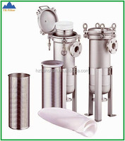 China Professional Manufacturer 304 and 316 Stainless Steel Bag Filter Housing For Wine Making Equipment