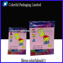 Plastic KMA mini ziplock packaging bags/for plant seed packing