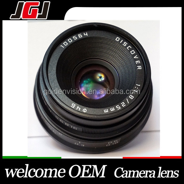 25mm F1.8 DISCOVER Camera Focus Lens For Fuji For Olympus M4/3 For Sony For NEX