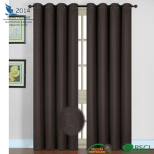 new leaf designs 210gsm embossed blackout luxury curtain