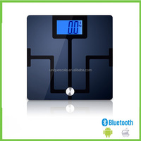 Smart Bluetooth APP tracking body analysis fat weight scales 180kg