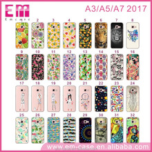 For Samsung Galaxy A3 2017 Clear Tpu Case, Transparent Soft for Samsung Galaxy A5 Case