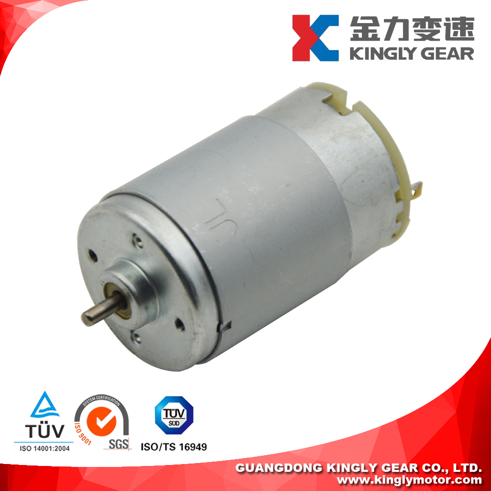 12V Dc Motor For Power Tools , 12 Volt Permanent Magnet Motor For Fan , JRS-555 24V Electric Motors With High Torque And Speed