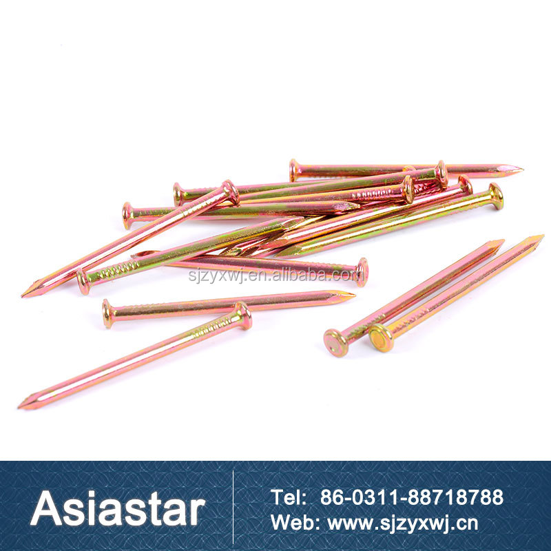 High strength concrete nails hardened steel nails supplies