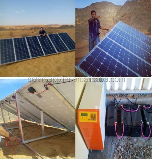 5KW 10KW Solar System In Pakistan Lahore Islamabad / 5000W Solar Panel System for Home with Grid Power Switch