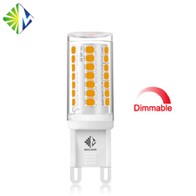 2W 3W Dimmable Flicker-free G9 LED Bulb light of Wide voltage input 120V / 240V