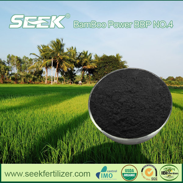 Bamboo Charcoal Based 100% Organic Soil Conditioner of Peat Moss