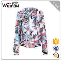 OEM wholesale custom hoody ladies jacket and coats women spring&winter coats
