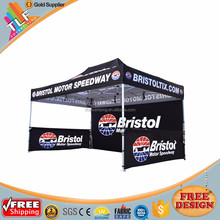 Outdoor advertising dye sublimated canopy tent with walls