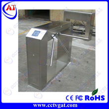 Stainless steel RFID card access control manual turnstile & manual turnstile gate & manual tripod turnstile GAT-303