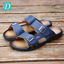 Free Shipping Men's Sandals Slippers Genuine Leather Cowhide Sandals Outdoor Casual Shoes