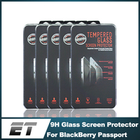 High clear liquid anti shock anti-reflection laptop tempered glass screen protector for Blackberry Passport