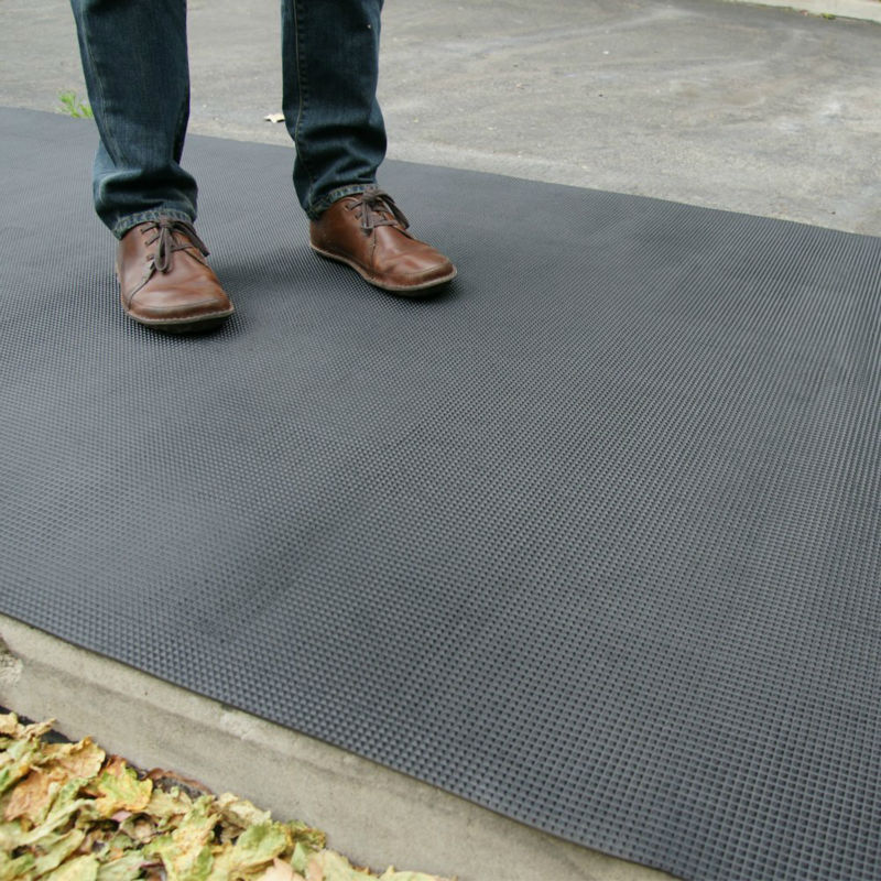 Great Wall Factory sale various widely used rubber car floor mat3mm x 1m x 10m Anti-slip Pyramid Rubber Sheets